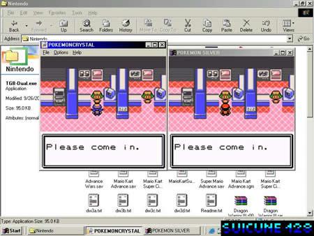 pokemon leaf green how to trade on emulator
